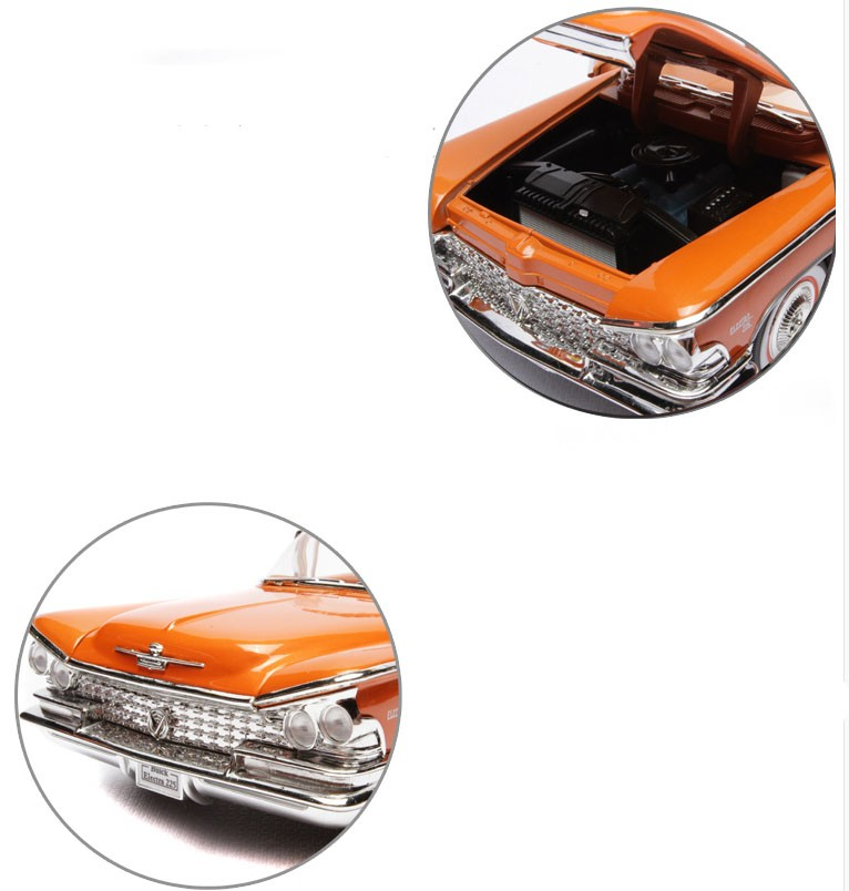 Alloy 1:18 diecast model car for collection