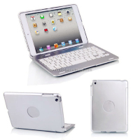 Foldable Wireless Bluetooth Keyboard Case for IPAD Mini 1/2/3, Case Cover With Stand