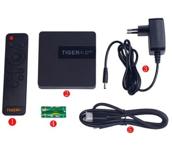 Tiger I3000 conax satellite receiver Android tv box with many channels iptv box