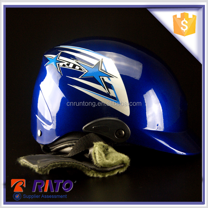 Wear-resisting stylish open face China abs motorcycle helmet