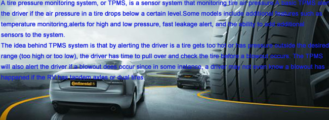 Digital external TPMS devices motorcycle & car tire pressure monitoring system