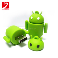 Special pvc 3D usb flash drive with custom design