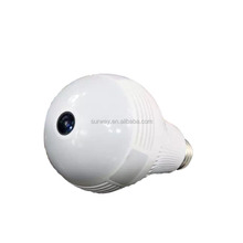 1.3MP Bulb Light Wireless IP Camera Fisheye 360 Degree Panoramic Lamp WI-FI Camera Two Way Audio Home Security CCTV VR Cam