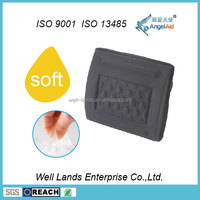 PU Gel foam massage breathable car seat back support cushion