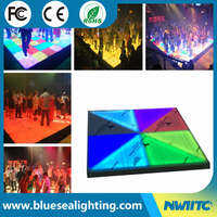 RGB illuminated lighted floor tiles interactive led dance floor
