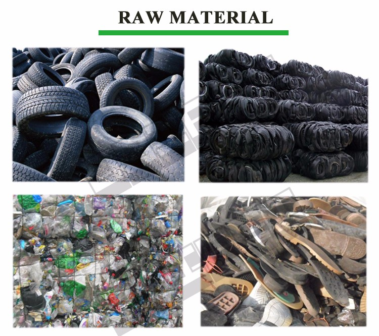 rubber recycling plant with high quality