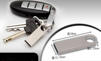 Metal USB Flash Drive Driver USB2.0 pen drives 32gb disk on key mini usb pendrive 64gb 8 gb gifts free shipping