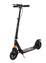 Adult 200mm Big PU two wheel Kick scooter