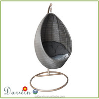 Patio Rattan Swing Hanging Wicker Chair SV-4853