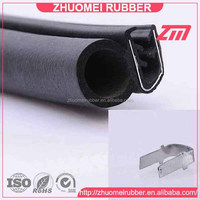 Co-extruded EPDM auto rubber seal