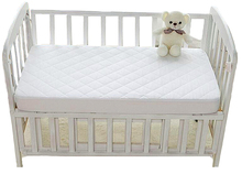 Tpu Laminated Waterproof Organic White Single Cot Jersey Baby Crib Sheets