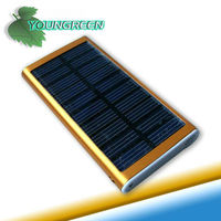 Micro USB Portable Solar Panel Cell Phone Power Bank for Mobile