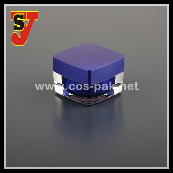 15g popular and big brands prefers classical square packaging acrylic paint container