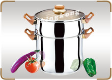 4/6/8/12L Optima Steamer Pot For Sale Stainless Steel Cookware