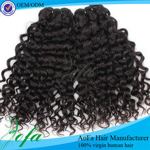 Wholesale brazilian hair weave loose curly brazil human hair extension