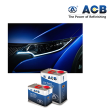 ACB high mechanical and chemical resistance car paint 2K topcoating