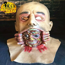 Hot-selling Novelty Items Vampire Mask Costume Overhead Latex Scary Mask For Carnival