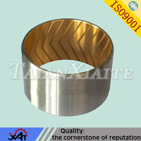 auto part cnc bimetal bearing bush