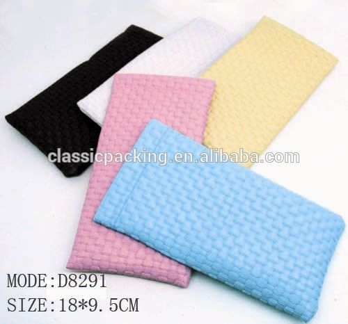 wenzhou custom microfiber pouch a4 laminating pouches,drawstring sunglasses pouch