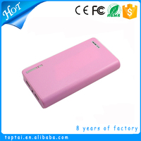 2016 trending products private label smart portable 10400mah strong light torch power