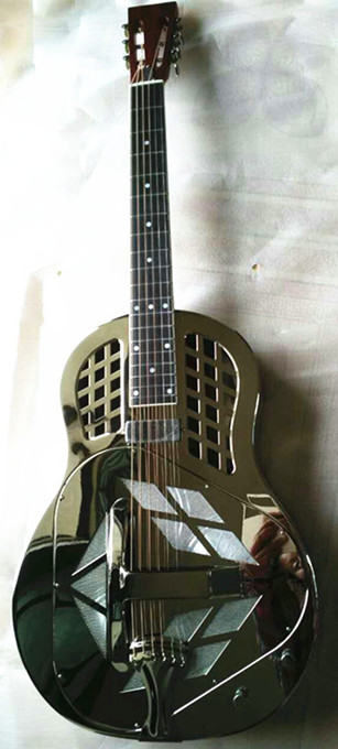 China Wholesale Cheap Unique Factory Electric Acoustic Resonator Guitar