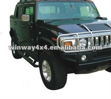 STAINLESS SIDE BAR FOR HUMMER H2