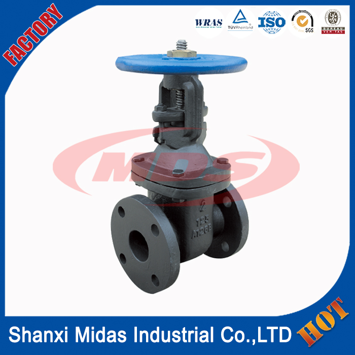 "2"" inch AWWA standard ductile cast iron gate valve price"