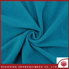 China textile 100%polyester micro Polyester Fleece Fabric polyester fleece fabric