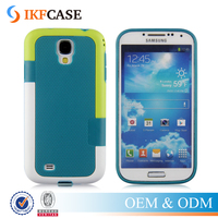 Hybrid Textured Armor Hard Case For Samsung Galaxy S4 I9500 Shockproof Absorbing Cover