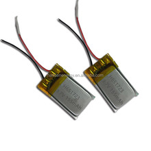 Rc mini battery 155mah 3.7V 651723 lipo battery