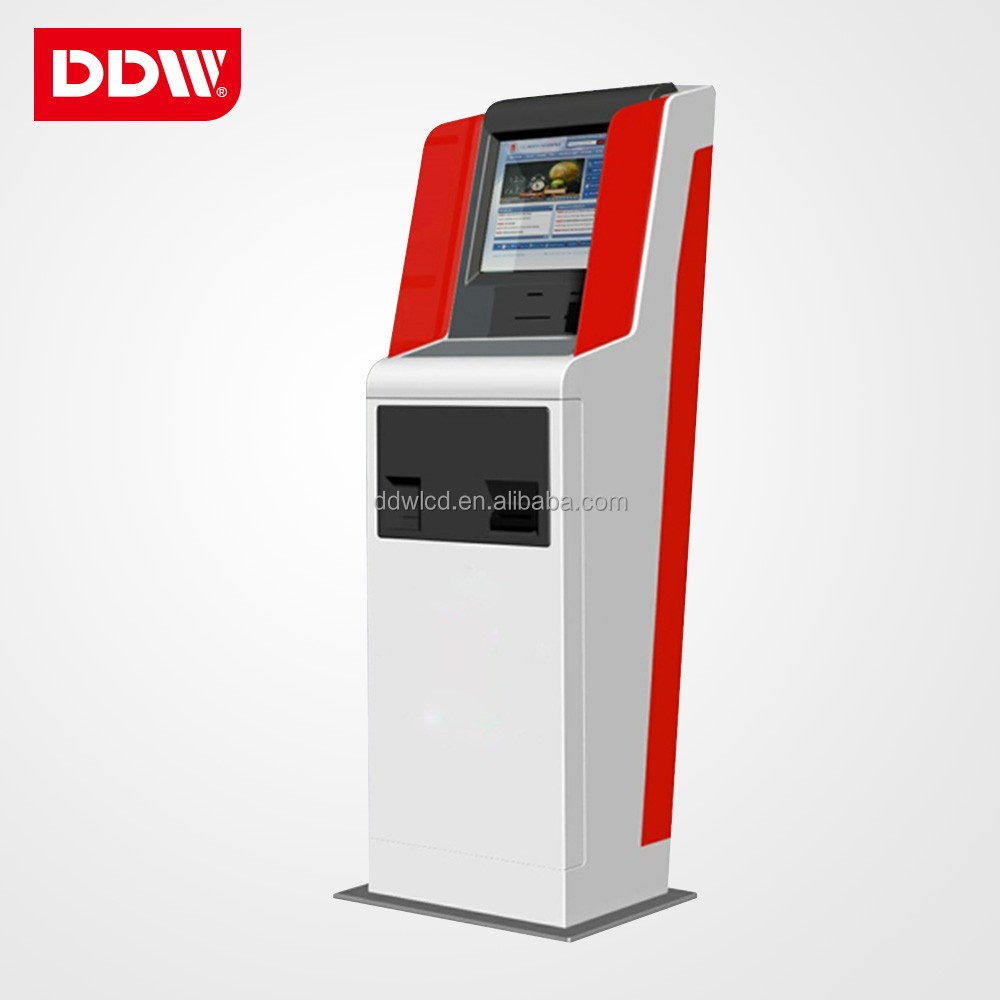 22 inch payment kiosk touch screen Self Service Terminal