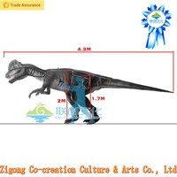 Dinosaur clothing (costume adulte de dinosaur) made in China