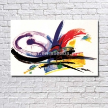 Handpainted Furniture Decor Canvas Abstract Oil Painting For Bedroom Wall Picture For Restaurant