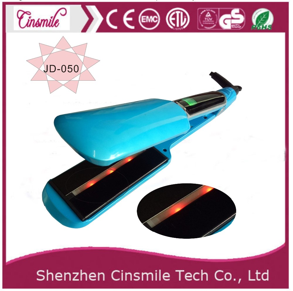 2017 new Professional rechargable cordless battery hair straightener