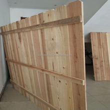 Cheap Price Wooden Fence Cedar Panels