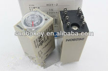 Omron Time relay H3Y-2 delay voltage 220V 24V 12V 36V 110V