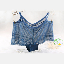Wholesale ladies colored lace boyshort panties women briefs hot sex modal women underwear