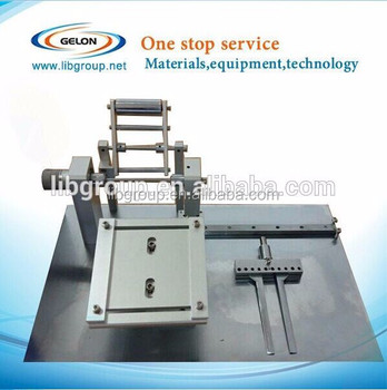 Multi-Speed Mini Type Manual Coil Winding Machine for Battery Use