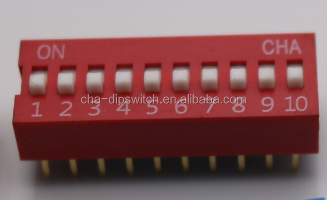 dip switch 1 2 3 4 5 6 7 8 9 10 11 12 pin/All will be available in black, blue or red
