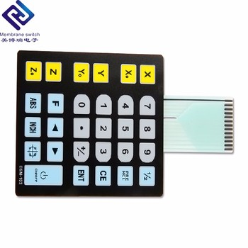 Calculator PET/PC tactile dome micro membrane keypad switch