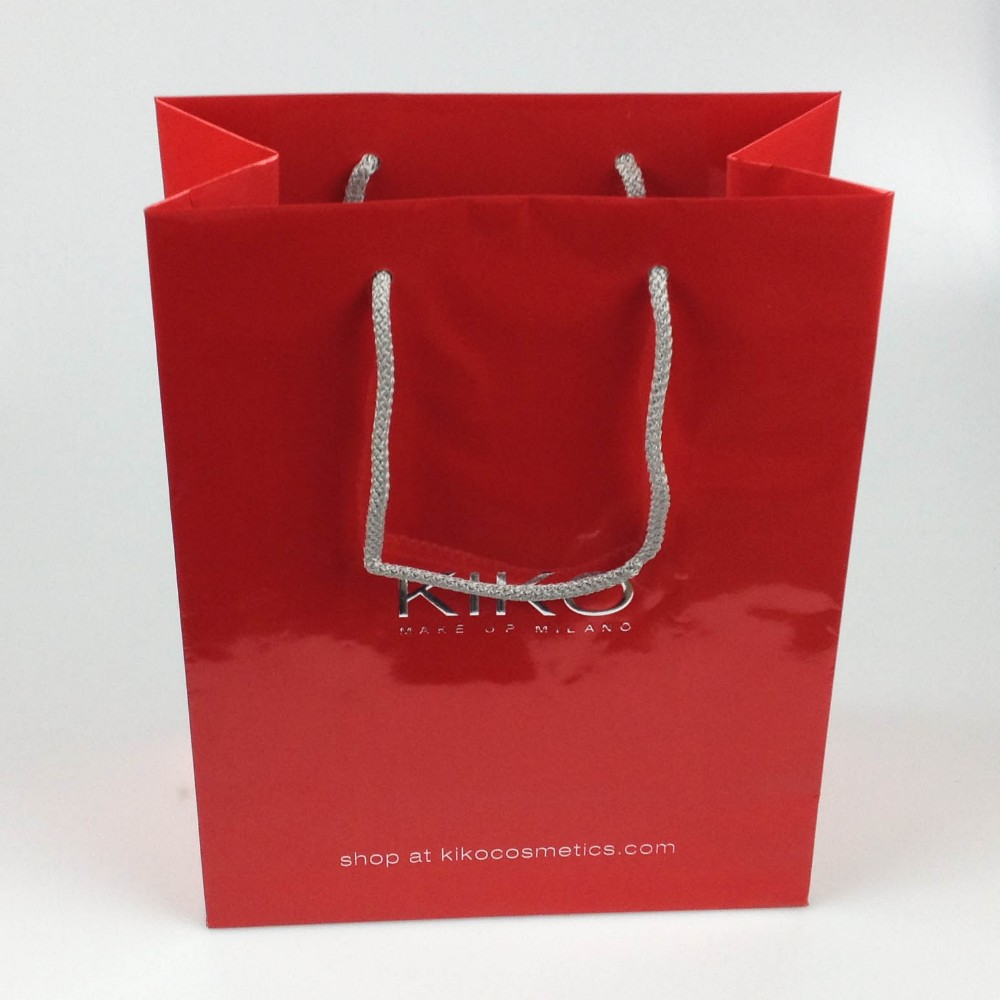 Creative luxury paper bag for christmas promotion