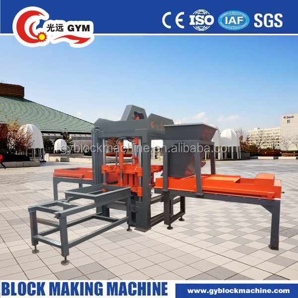 2017 Sale Top Fashion Concrete No Semi Automatick Brick Making Machine GYM-QTY3-20 Small Scale Industries Machines