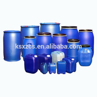 200L blue plastic drum with HDPE material