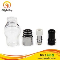 Electronic cigarette ego e pipe glass vaporizer pipevape starter kits wholesale vaporizer pen ego ce4