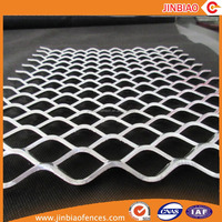 Hebei Jinbiao expanded metal mesh carbon steel mesh panel on sale