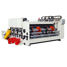 Beautiful price semi-automatic 4 colour corrugated carton box flexo printing machine