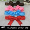 Handmade Graduation/packing Nylon Polyester pre made mini satin ribbon bow