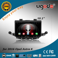 ugode high quality double din car gps car radio android for opel astra 2016