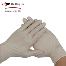 Disposable latex with powder gloves