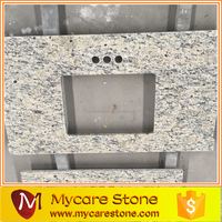 Wholesales Santa cecilia light pre cut granite countertop